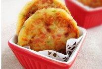 土豆火腿早餐饼的做法
