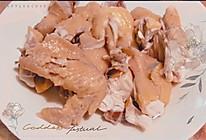 沙姜白切鸡的做法