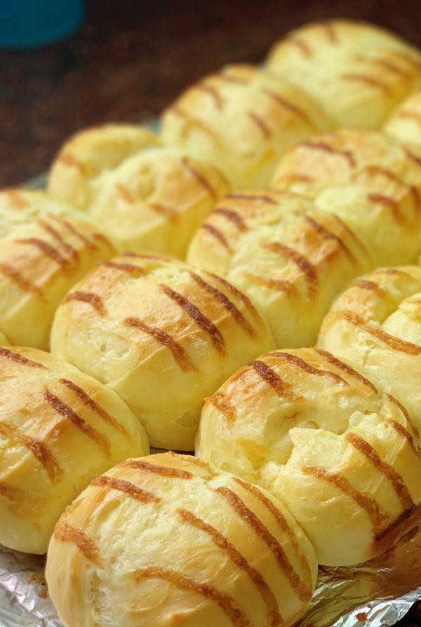 烘焙小白也能做好——咸香黄油排包的做法