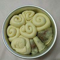 豆沙手撕面包(六寸)的做法图解9
