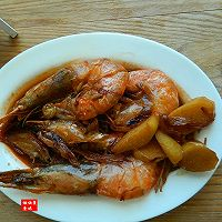 经典辽菜自己做——火靠大虾