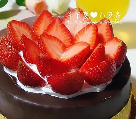 巧克力脆皮蛋糕_草莓巧克力脆皮蛋糕的做法_【图解】草莓巧克力脆皮蛋糕怎么做 ...