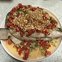 初恋剁椒三文鱼头