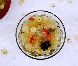 桂圆红枣银耳甜汤#美的养生壶#的做法