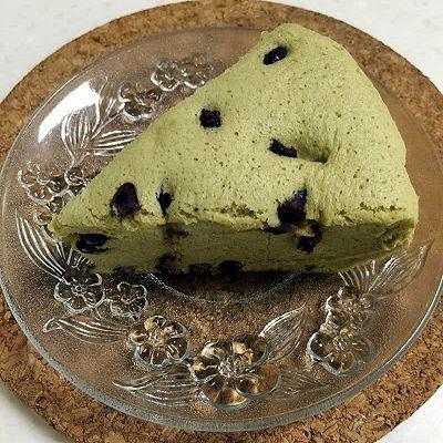 绿茶蜜豆蛋糕(电饭锅版)