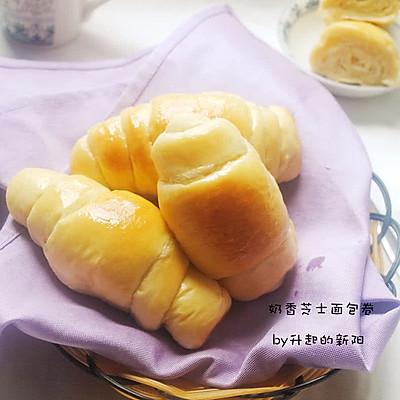 奶香芝士面包卷