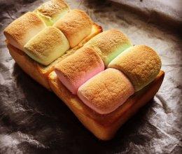 烤棉花糖面包的做法