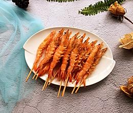 椒盐串串虾的做法