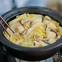 白菜虾皮豆腐煲的做法图解15