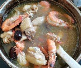 榴莲芯鸡肉汤的做法
