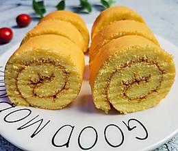#餐桌上的春日限定# 原味蛋糕卷,学会就可以做给家里人吃了的做法