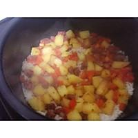 香肠胡萝卜土豆焖饭的做法图解8
