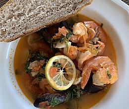 快手-意式海鲜汤cioppino的做法