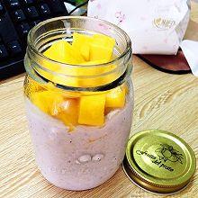 水果燕麦罐子