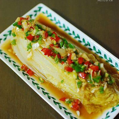 韩式美味蒸大白菜