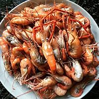 白灼河虾的做法图解4