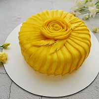 唯美芒果蛋糕#520,美食撩动TA的心!#的做法图解23