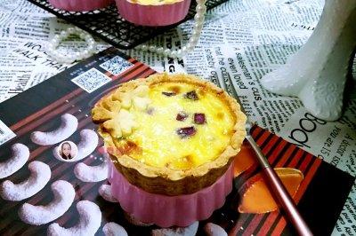 紫薯蛋挞#有颜值的实力派#