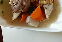 胡萝卜玉米山药大骨汤的做法