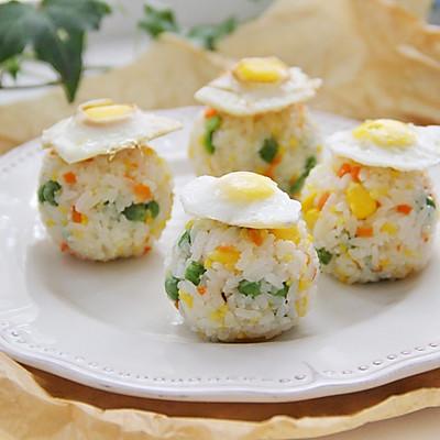 帽子蔬菜饭团