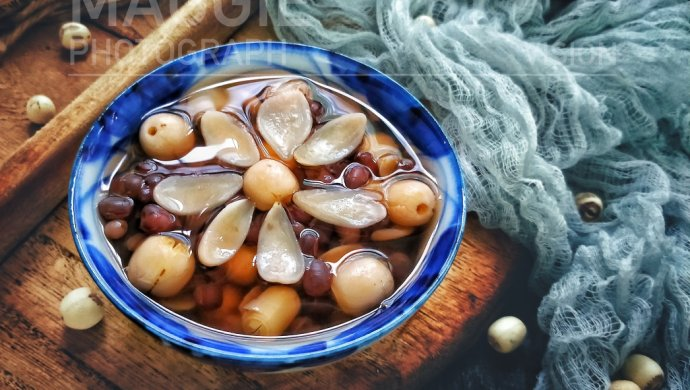 红豆莲子百合汤