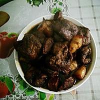 油豆腐红烧肉的做法图解1