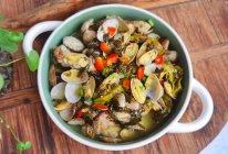 十分钟快手菜——酸辣花蛤的做法