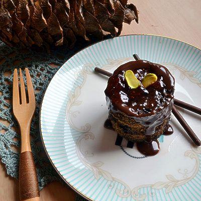 两分钟巧克力蛋糕_微波炉懒人版