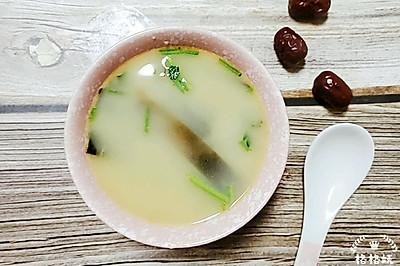 营养奶白海带汤
