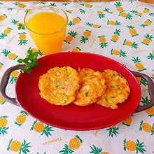 十分钟快手早餐~红薯鸡蛋饼