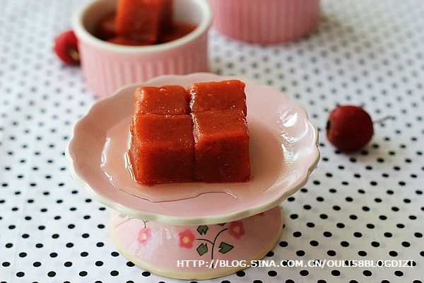 藕粉山楂糕的做法