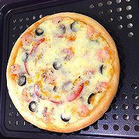 培根虾仁披萨的做法图解6