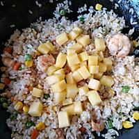 泰式菠萝饭#网红美食我来做#的做法图解16