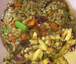 咖喱海鲜炒饭与温馨的碰撞的做法