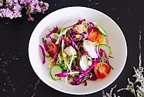 轻食鸡肉蔬菜沙拉的做法