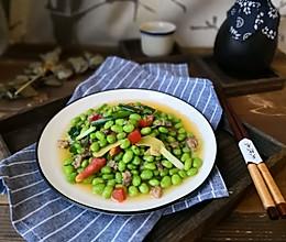 #花10分钟,做一道菜!#快手炒毛豆的做法