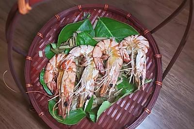 香茅烤大虾