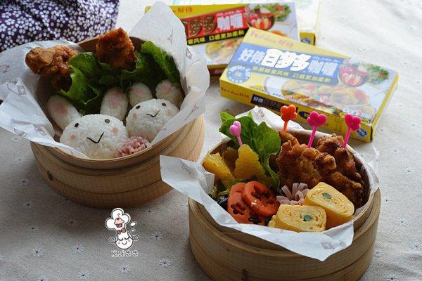 日式咖喱炸鸡便当#咖喱萌太奇#的做法