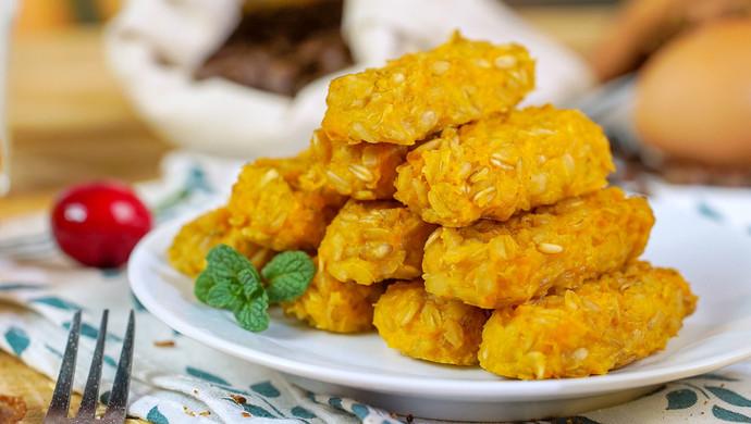 低卡红薯燕麦饼