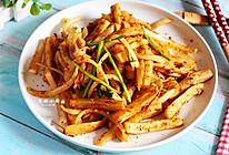 杏鲍菇比肉香的吃法~孜然杏鲍菇的做法