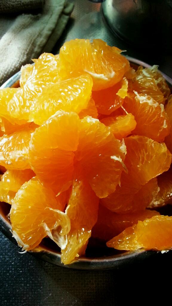 剥皮橘子简笔画