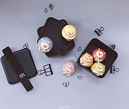 【卡通馒头&卡通包】福猪临门,猪猪馒头的做法