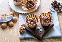 核桃榛子巧克力麦芬蛋糕的做法