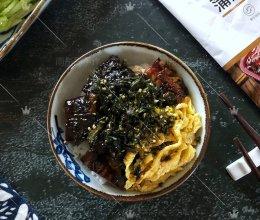 ㊙️简单三步‼️在家也能做出高颜值的日式鳗鱼饭‼️的做法