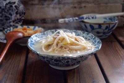 干贝菌菇汤#松下多面美味#
