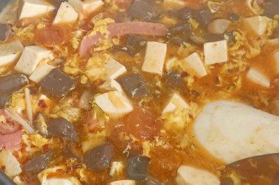 暖暖酸辣汤