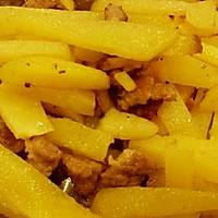 香炒土豆的做法图解1