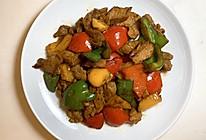 极简|彩椒炒肉的做法