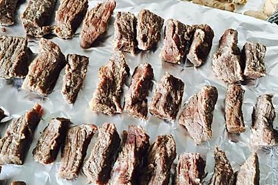 手撕牛肉 (猪肉)超级简单