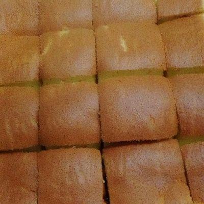 原味戚风蛋糕(八寸烤盘)